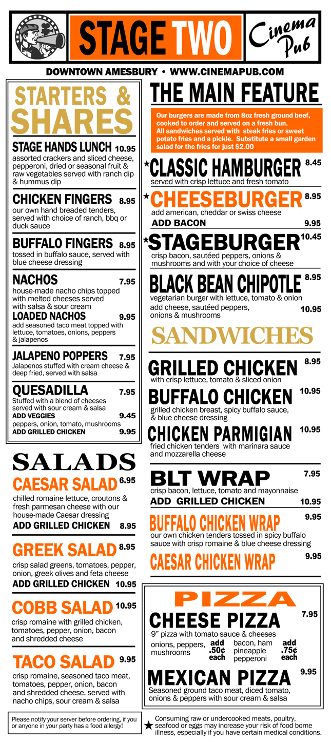 Starters. Burgers, Sandwiches, Wraps, Pizza